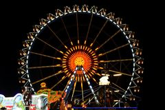 Big Wheel at Oktoberfest Royalty Free Stock Photo