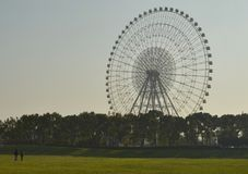 Big wheel in the park Royalty Free Stock Photography