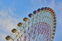 Big wheel in the park Royalty Free Stock Photos