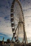 The big wheel on the place de la Concorde. Stock Photos