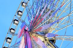 Big Wheel Place de la Concorde Paris France stock image