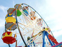 Big wheel at scarborough. Royalty Free Stock Images