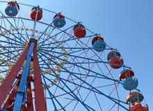 Big wheel in Sevastopol in Historical Parkway Royalty Free Stock Image
