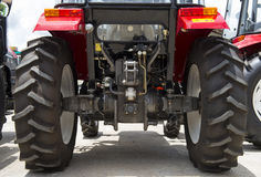 Big wheel tractor Royalty Free Stock Image