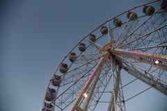 Big Wheel on Valentine Harbour stock image