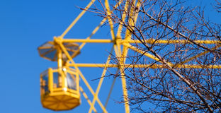 Big wheel. Royalty Free Stock Photo