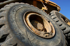 Big wheels Stock Image