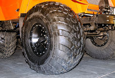 Big wheels of the all-terrain vehicle Stock Photography