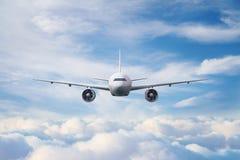 Big white airplane Royalty Free Stock Image