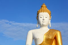 Big White Buddha Royalty Free Stock Photography