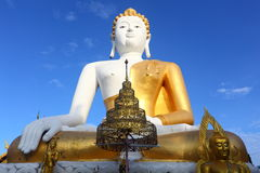 Big White Buddha Stock Photos