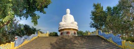Big white Buddha Stock Photography