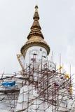 Big white buddha image statue Stock Photography