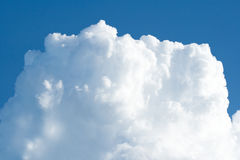 Big white cloud Stock Photography