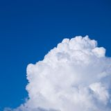 Big white cloud Royalty Free Stock Photos