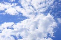 Big white cloud on sky, sun shine day. Big white cloud on sky, sun shine day Royalty Free Stock Photos