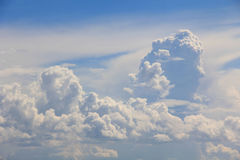 Big white clouds Royalty Free Stock Photo