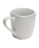 Big white cup Stock Image