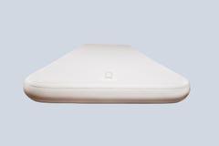 Big white  mattress. Big white aqua  mattress on air Stock Images