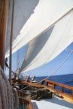 Big white sail