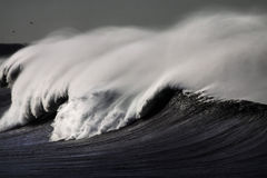Big white wave Royalty Free Stock Images