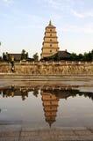 Big wild goose pagoda Royalty Free Stock Photography