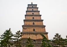 Big Wild Goose Pagoda Royalty Free Stock Photos