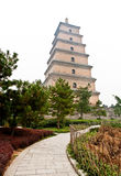 Big Wild Goose Pagoda Stock Photo
