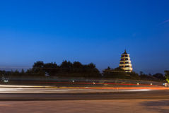 Big Wild Goose Pagoda Stock Images