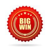 Big win star vector icon Stock Image