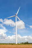 The big wind turbine (windmill) stands at wind farm Thailand. Stock Image