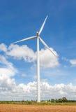 The big wind turbine (windmill) stands at wind farm Thailand. Stock Image