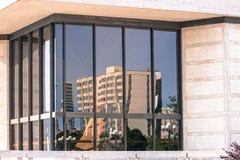 Big window with reflection. Stock Image