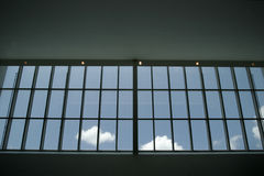 Big window with the sky Stock Photo
