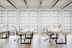 Big windowed office Royalty Free Stock Photos
