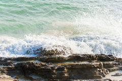 Big windy waves. Stock Photo