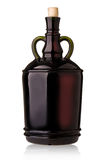 Big wine bottle Royalty Free Stock Images