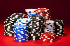 Big winner in poker Royalty Free Stock Photo
