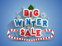 Big Winter Sale Royalty Free Stock Image