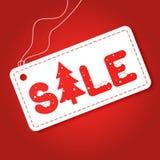 Big winter sale poster. Discount tag sticker. Mega retail sale banner. Christmas sale. Stock Photo