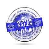 Big winter sales, best prices, good deals, big discounts Stock Photo