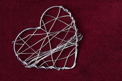 A big wire heart Stock Photo