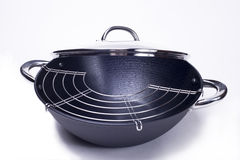 Big wok Royalty Free Stock Images