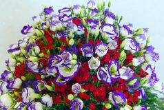 Big wonderful flowers bouquet Royalty Free Stock Photo
