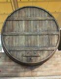 Big wood barrel. A big wood barrel for wine Royalty Free Stock Photography