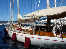 Big wood boat Royalty Free Stock Image