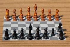 Big Wooden Chess Stock Photos