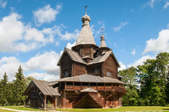 Big wooden church Royalty Free Stock Images