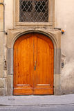 Big wooden door Stock Photo