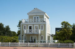 Big wooden house Stock Photography